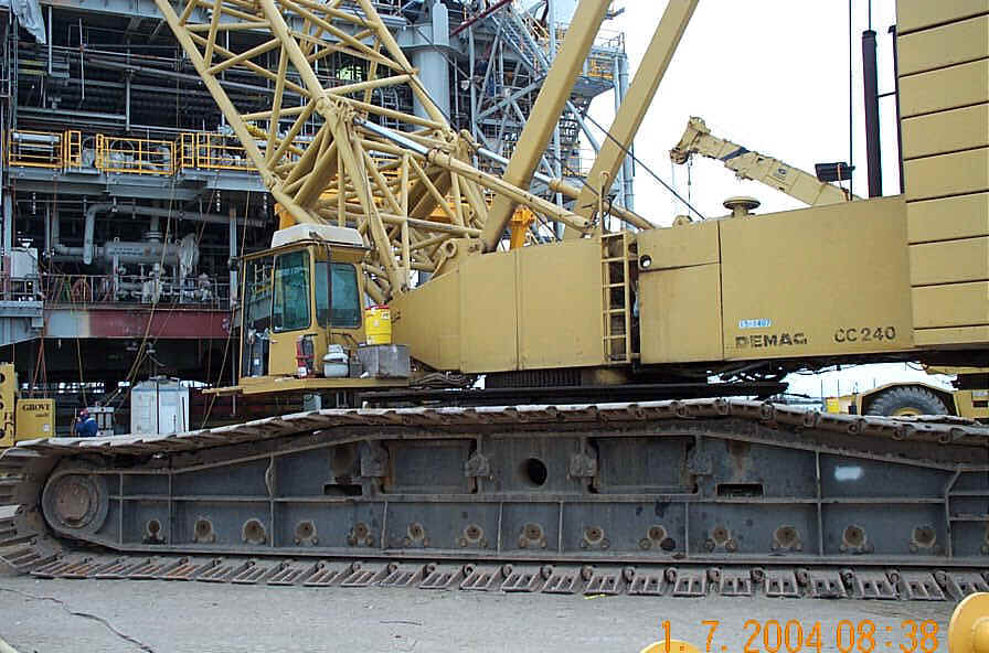 Used cranes for sale for Motors used in cranes